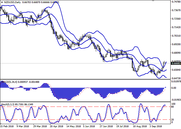 NZD/USD: the pair is trading in the flat