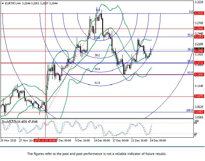 欧元/里拉: 斐波那契分析
